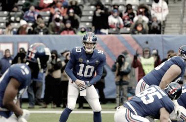 Eli Manning pudo haber jugado su último partido con los Giants el pasado 31 de diciembre.   Foto: New York Giants