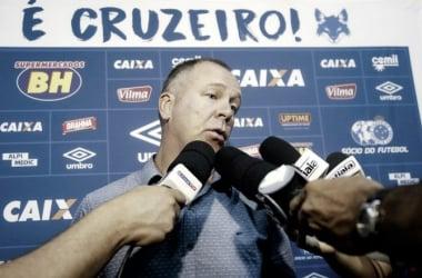 Mano lamenta circunstância do empate sofrido em Uberlândia (Foto:Daniel Teobaldo / Cruzeiro)
