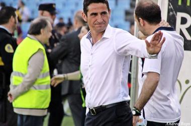 Manolo Jiménez, actual entrenador de Las Palmas | Foto de archivo: Andrea Royo / VAVEL
