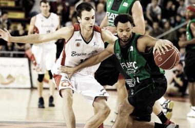 Imagen del partido entre Manresa y Badalona. Foto: acb.com
