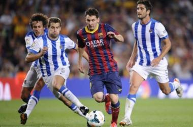 Com vantagem catalã, Barcelona e Real Sociedad se enfrentam por vaga na final da Copa do Rei