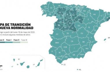 Barcelona, Madrid y varias zonas de Castilla y León se quedan en la Fase 0