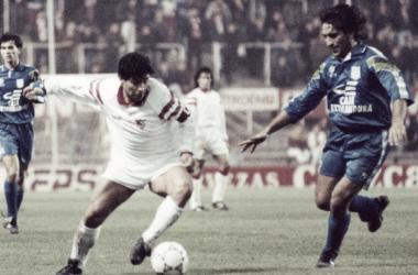 Maradona, 60 años de leyenda sevillista