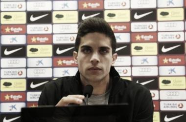 """Marc Bartra: """"Nunca he tenido intención de marcharme del Barcelona"""""""
