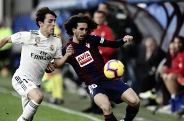 Marc Cucurella jugará por primera vez en el Santiago Bernabéu | Foto: SD Eibar