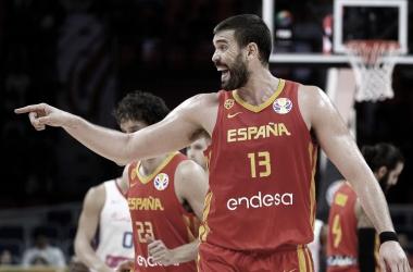 Marc Gasol dando instrucciones de juego | Foto: FIBA