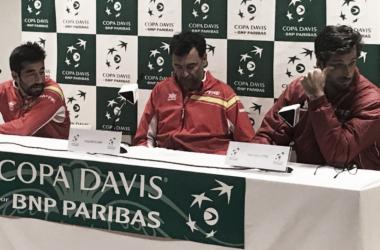 """Feliciano López: """"Hemos sido capaces de darle la vuelta, por eso da tanta rabia el resultado de hoy"""""""