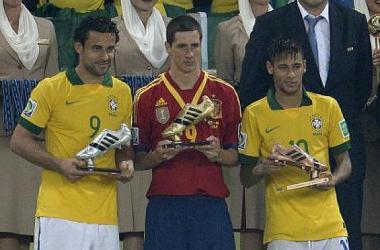 Fernando Torres vence a chuteira de ouro da Copa das Confederações
