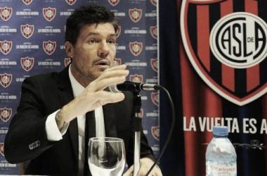 """Marcelo Tinelli: """"Me ilusiona el presente institucional del club"""""""