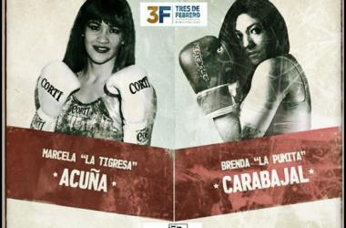 """Combate destacado: """"La Tigresa"""" espera por """"La Pumita"""". Fuente: Boxeo-Boxing"""