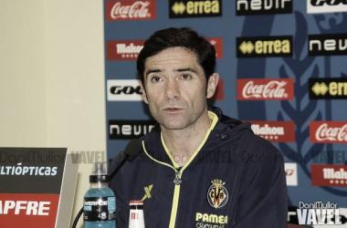 """Marcelino: """"El partido ante el Atleti es guapo"""""""
