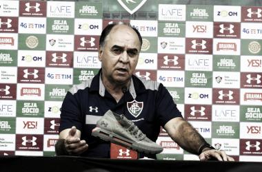 Marcelo Oliveira lamenta derrota do Fluminense para o Grêmio: ''Temos que nos indignar''