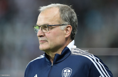 Leeds United boss Marcelo Bielsa saw his side progress into Round Four of the Carabao Cup on Tuesday evening(Photo by Ian MacNicol/Getty Images)