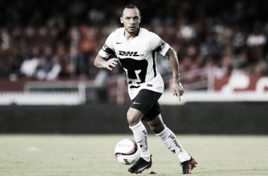 Marcelo 'Chelo' Díaz con la camiseta de su actual club Pumas UNAM. Foto: Web