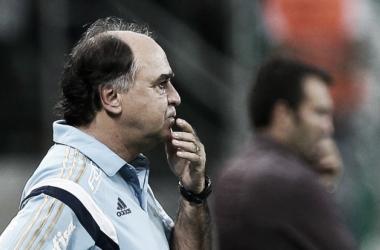 """Marcelo Oliveira desconhece motivo da irregularidade no Palmeiras: """"Não tenho resposta"""""""