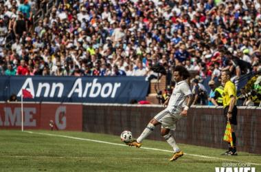 Marcelo, ejemplo del Real Madrid