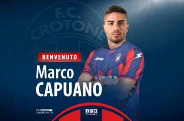 Marco Capuano, la nueva ficha para alejar al Crotone del descenso