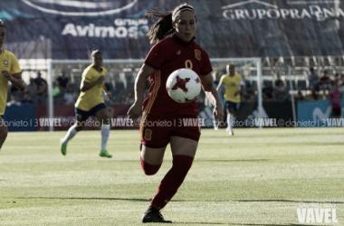 Mari Paz Vilas podría ser la novedad en el once de Jorge Vilda. | Foto: Dani Nieto (VAVEL.com).