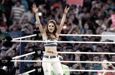 Maria Menounos has a great relationship with WWE (image: diva dirt)