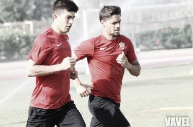 Antonio Marín y Álex Quintanilla deján de ser jugadores de la UD Almería