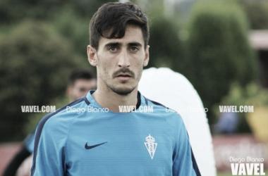 Diego Mariño durante un entrenamiento. // Foto: Diego Blanco-VAVEL