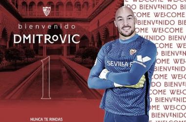 Marko Dmitrović, el primer fichaje del Sevilla FC