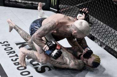 Chito Vera consiguió un enorme triunfo en la co-estelar del UFC 252 (Foto:Jeff Bottari - Zuffa LLC)