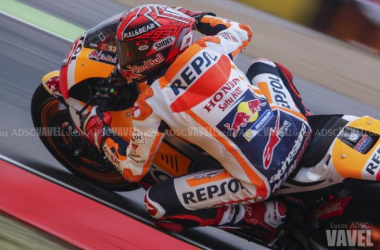 Marquez in pole al Gp d'Austria