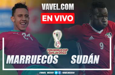 Goles y resumen del Marruecos 2-0 Sudán en Eliminatorias Africanas