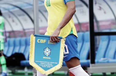 Marta, capitana de la Selección Brasileña // Fuente: Juegos Olímpicos