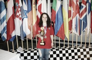 Marta García bronce en el europeo sub 18 | FEDA