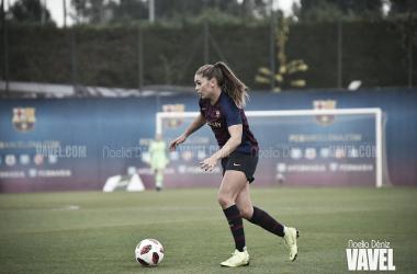 Lieke Martens, jugadora del FC Barcelona. FOTO: Noelia Déniz