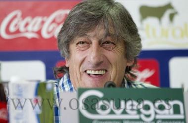 """Enrique Martín Monreal: """"Yo estoy contento con los jugadores que tenemos"""""""