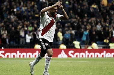 Segunda Libertadores en su carrera (Foto: Infobae)