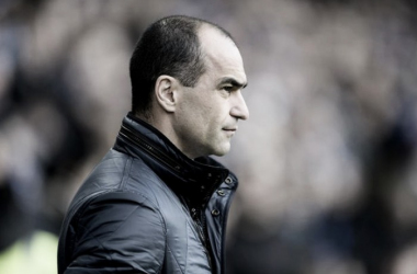 Fans are looking for Roberto Martinez to turn it around at Goodison Park. Photo: Liverpool Echo