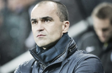 Roberto Martinez is looking for a win. Photo: The Express