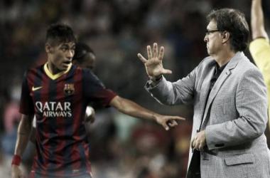 Presión, intensidad y Neymar para la segunda parte. El resumen del primer juego de Martino en Barcelona   REUTERS