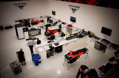 A Marussia está a caminho de Abu Dhabi para a última corrida do ano (foto: Marussia)