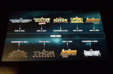 Marvel Announces 9 Movies For It's Cinematic Universe's 3rd Phase