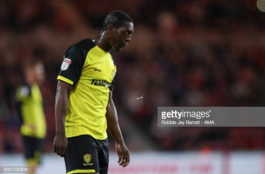 Marvin Sordell has called time on his career (Image from Getty Images/Robbie Jay Barratt  - AMA)
