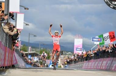 Masnada vince a San Giovanni Rotondo Fonte foto: Profilo Twitter Giro d'Italia<div><br></div>