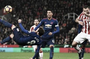 Resultado Manchester United 3-0 Stoke City en Premier League 2018