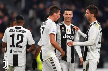 Trámite de la Juve antes de la Champions