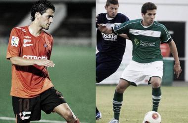 Mateo Míguez (izquierda) y Sergi Murcia (derecha) | foto: Faro de Vigo.
