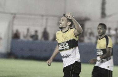Diego Giaretta marcou um dos quatro gols na goleada | Foto: Fernando Ribeiro/Criciúma E.C.