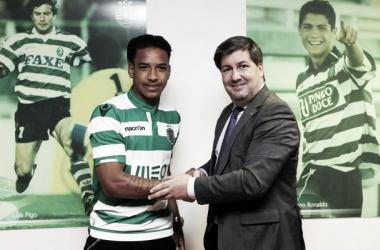 Matheus Pereira renovou até 2020 (Foto: sporting.pt)