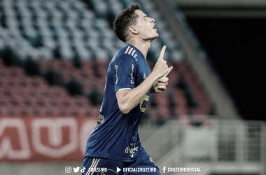 Gol de Matheus Barbosa coloca a Raposa na terceira fase (Foto: Gustavo Aleixo/Cruzeiro EC)