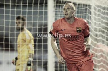 Celta Vigo 0-1 Barcelona: Mathieu winner in Balaídos