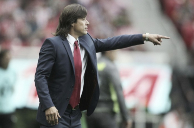 Matías Almeyda suma 23 partidos de Liga MX dirigiendo al Guadalajara | Foto: Chivas