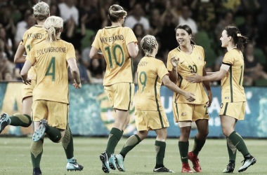 Australian Roster Named for 2018 AFC Women's Asian Cup | Photo: Westfield Matildas Twitter